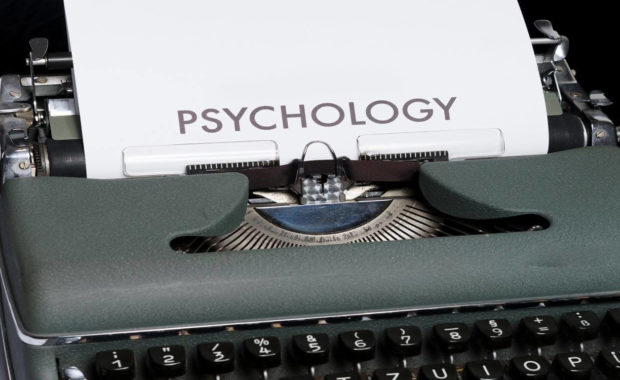 bachelor of science in psychology typewriter